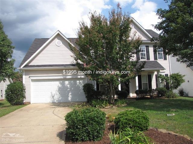 Main picture of House for rent in Charlotte  NC. House for rent in 11714 Borchetta Dr   Charlotte  NC